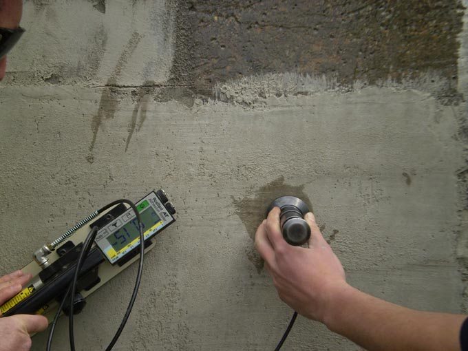 Bond Testing - Waterproofing